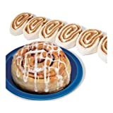 Bridgford Foods Pre Cut Jumbo Cinnamon Roll Dough, 4 Ounce -- 90 per case.