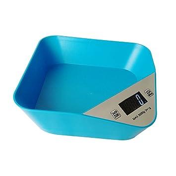 Honor Jojoba Báscula Digital para Cocina Báscula Electrónica de Cocina Báscula de Alimentos(Azul): Amazon.es: Hogar