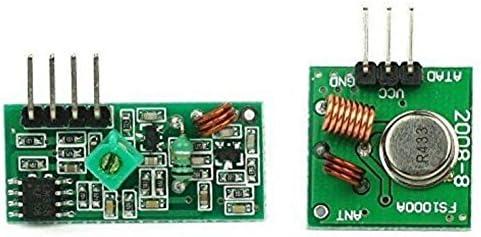 haoyishang 433 M 433 mhz transmisor inalámbrico módulo receptor ...