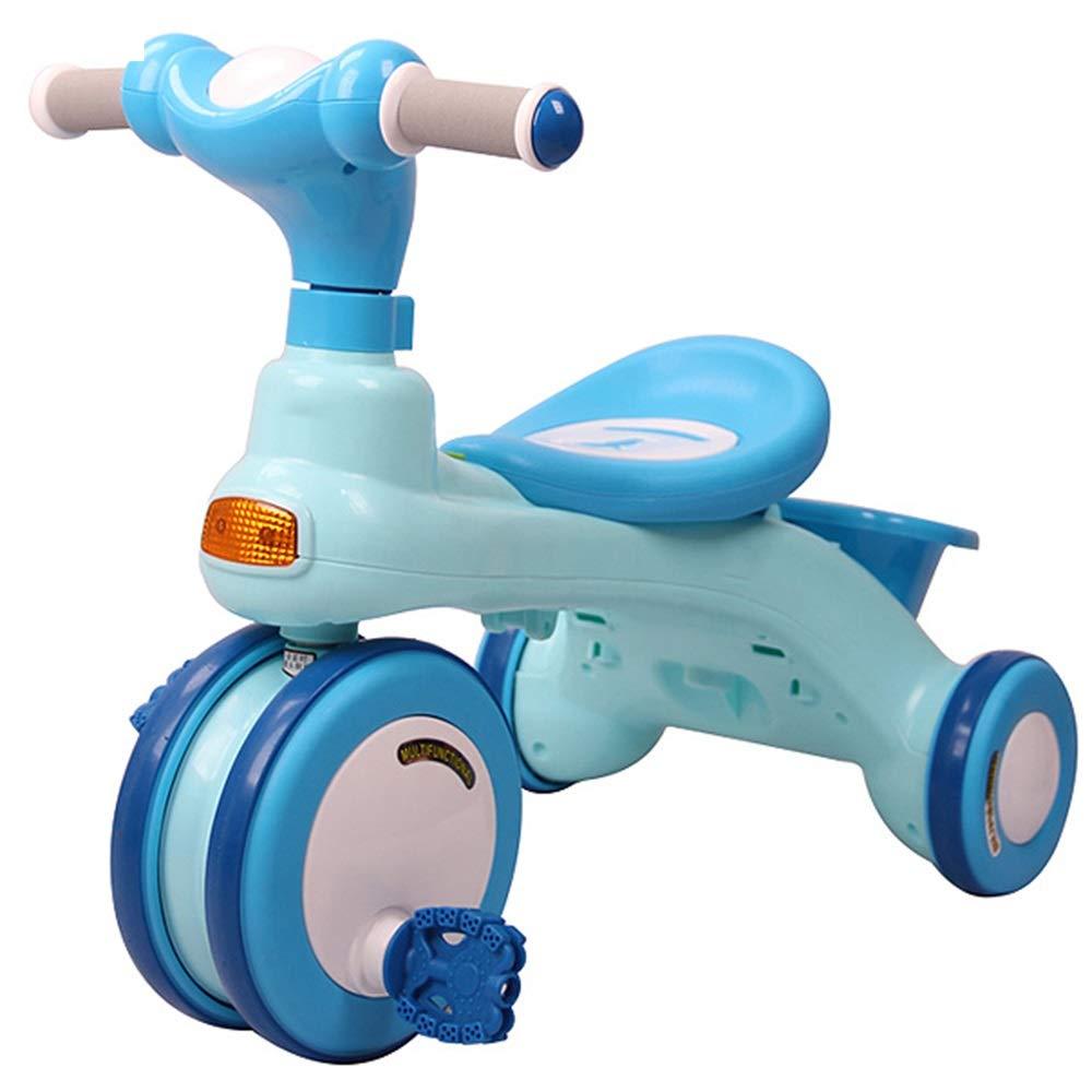 人気提案 Axdwfd 子ども用自転車 Axdwfd キッズ三輪車26年お誕生日おめでとうございますギフトプッシュ三輪車付荷重三輪車(積載重量50kg) 青 子ども用自転車 B07PZ36N9J B07PZ36N9J, 子供服 MB2:dfec163e --- senas.4x4.lt