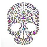 Martha Stewart Adhesive Gem Skull