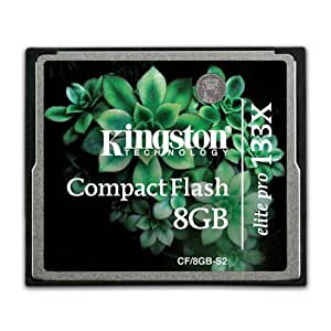 Amazon.com: Kingston Elite Pro 8 GB 133 X CompactFlash ...
