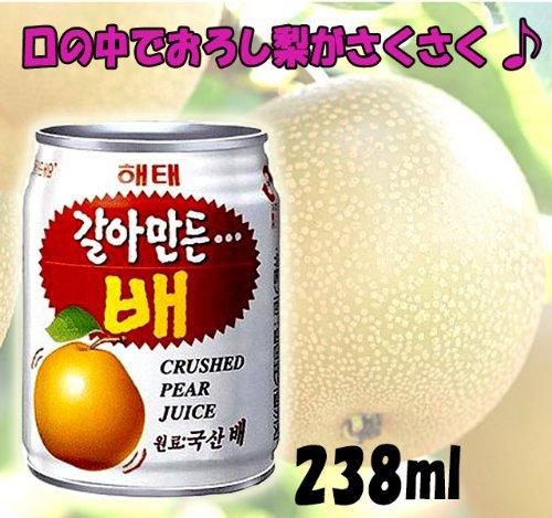 * Bargain! * [Haitai grated pear juice 1 box (238mlx12 cans)] drink Korea drink fruit drinks Korean tea Korean food