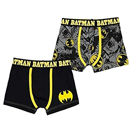 character DC Comics Batman Pack 2 Boxer Trunk Boy Kid Child Underwear  Cotton (Exclusive) cc632f1ba