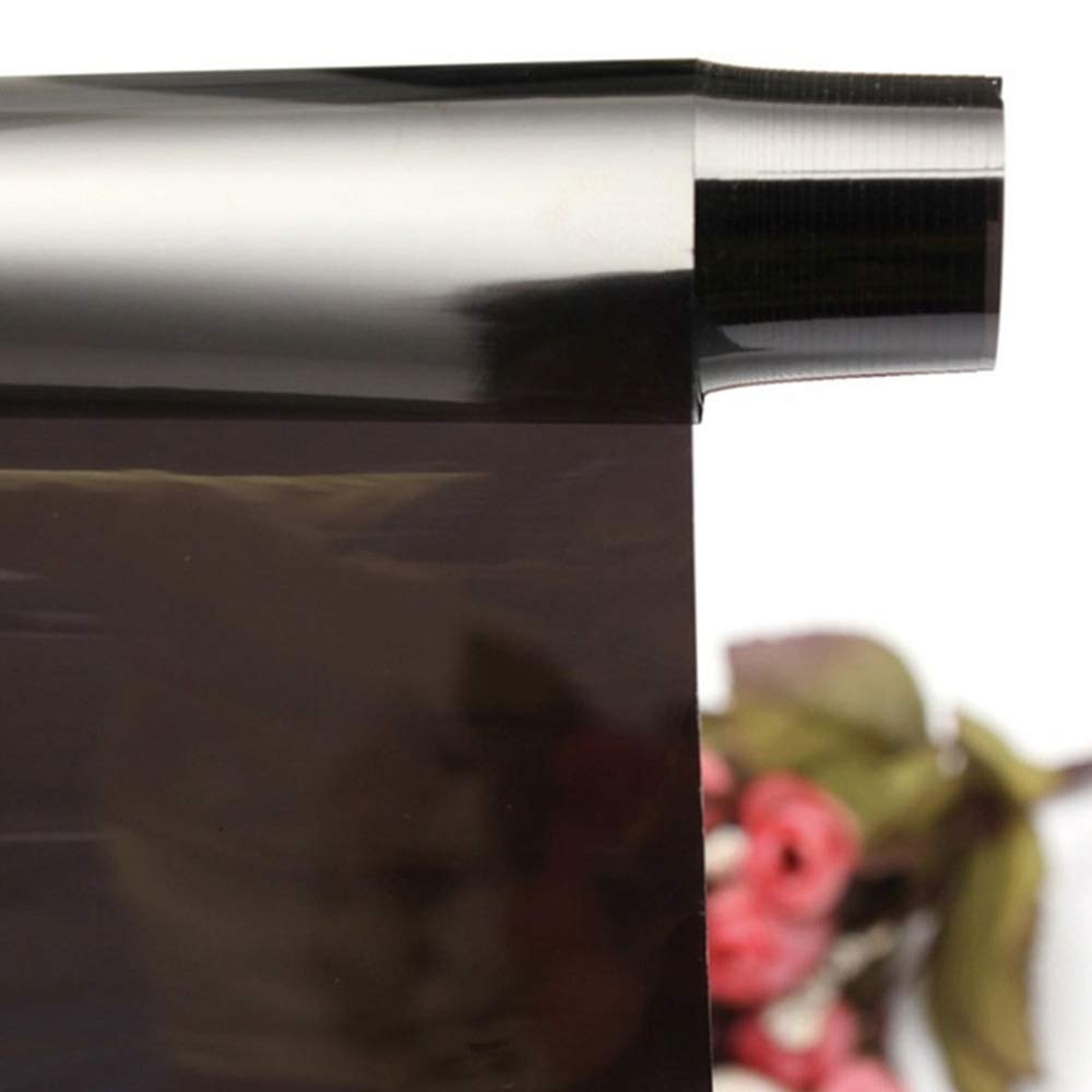 L/ámina de protecci/ón Solar para Coche Tintada Color Negro 50 x 300 cm l/ámina para Ventanas autoadhesiva Roblue l/ámina de protecci/ón Solar