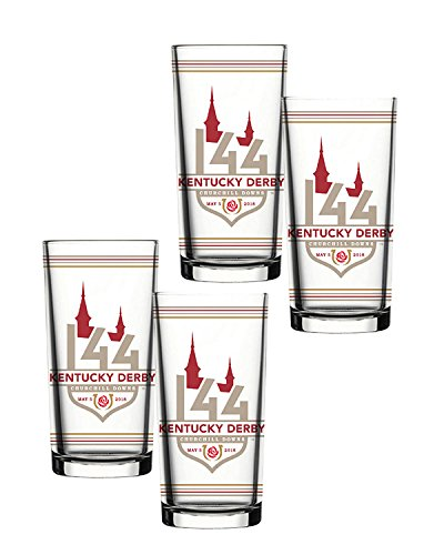 Kentucky Derby 144 Julep Glasses Set of - Kentucky De Derby