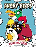 Angry Birds Coloring Book: 50+ GIANT Fun Pages with Premium outline images with easy-to-color, clear shapes, printed on…