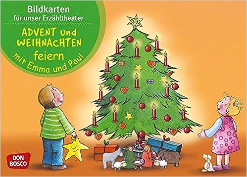 Weihnachten Feiern.Advent Und Weihnachten Feiern Mit Emma Und Paul Bildkarten Für