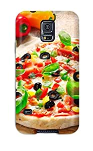 New Style ZippyDoritEduard Hard Case Cover For Galaxy S5- Pizza With Peppers