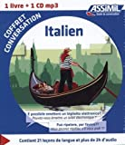 coffret conversation italien guide 1 cd mp3 italian edition