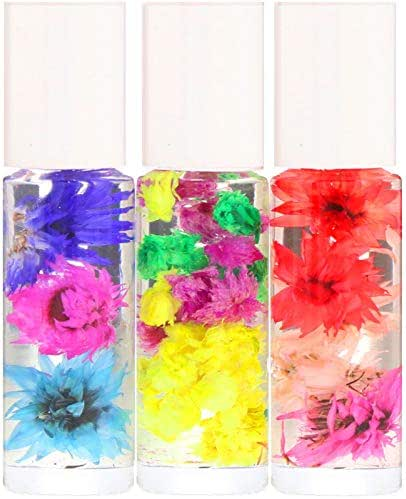Blossom Roll-On Perfume Oil Set 3 Pieces 0 1 fl oz 3 ml Each