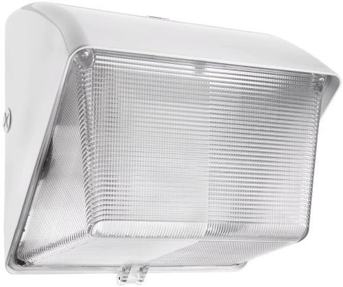 RAB WP1SN35WPC Wallpack 35W, High Pressure Sodium 120V Polycarb Lens Lamp + 120V Photocell, White by Rab - Polycarb Lenses