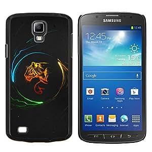 EJOOY---Cubierta de la caja de protección para la piel dura ** Samsung Galaxy S4 Active i9295 ** --Diseño Poder Tigre