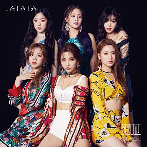 (G)I-DLE  (G)I-DLE (여자)아이들  LATATA(첫 한정반A)(DVD부) CD+DVD,한정판