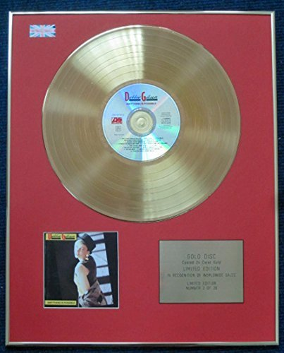 - DEBBIE GIBSON - Limited Edition CD 24 Carat Gold Coated LP Disc - ANYTHING IS POSSIBLE