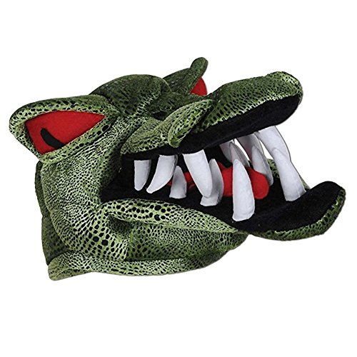 [Gator Hat - Crocodile Scary Red Eyed Alligator Hat For Costume] (Adult Crocodile Costumes)