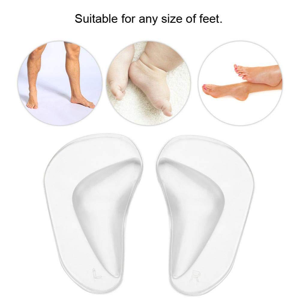 con supporto per la pianta del piede Solette interne in gel da donna