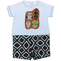 Macacão Máscara Tribal - Bebê