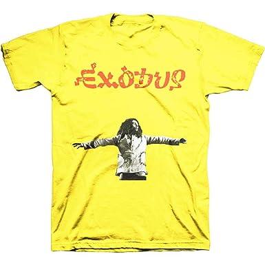 b87a5e8bb2e Amazon.com: Bob Marley Zion Exodus 40th Anniversary (Slim Fit) T ...
