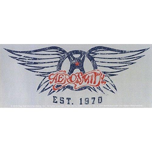 1970's Sticker - Aerosmith - Est. 1970 - Die Cut Vinyl Sticker Decal by Aerosmith