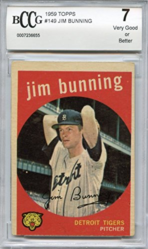 1959-topps-149-jim-bunning-tigers-bgs-bccg-7-graded-card