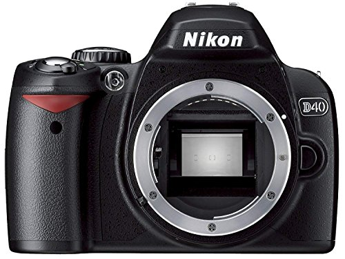 Nikon D40 6.1MP Digital SLR Camera (Body Only)