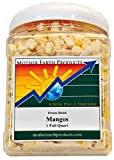 Mother Earth Products Freeze Dried Mangos, Quart Jar