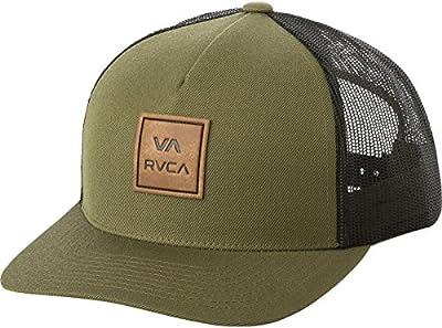 RVCA Men's VA All The Way Curved Brim Trucker Hat by RVCA