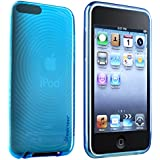 Insten Crystal Soft Gel Case for iPod touch 2G/3G (Blue)