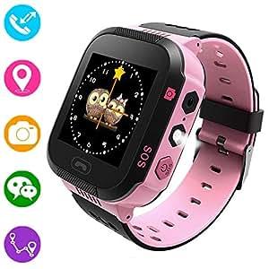 Reloj inteligente para niños, rastreador GPS para niños