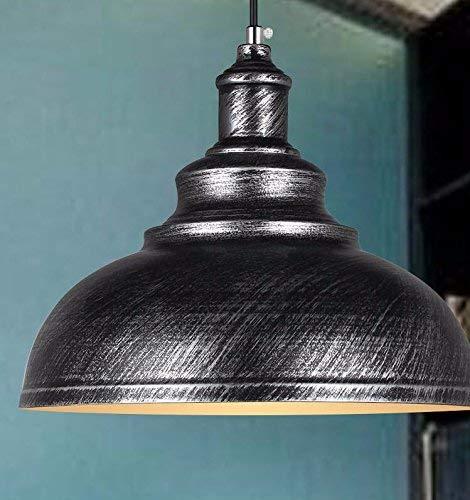 AN Gzz Deng Home Außenbeleuchtung Pendelleuchte Schatten Industrie Hängelampe Kronleuchter 40 cm Wohnzimmer Restaurant Schlafzimmer Beleuchtung