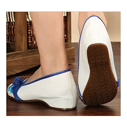 Cloth Casual white 39 Beijing Embroidered Old Shoes zwnwRqT8