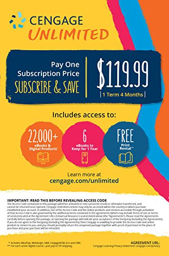 Cengage Unlimited Access (1 Semester)
