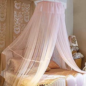 Bulawlly Hanging Letto a baldacchino, Hideaway Tenda Tettoie per Bambini Camere, Letti o culle, Nursery Sheer… 4 spesavip