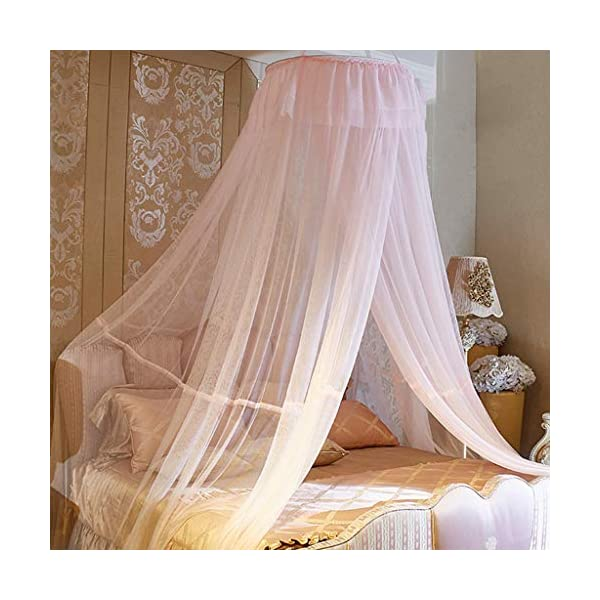 Bulawlly Hanging Letto a baldacchino, Hideaway Tenda Tettoie per Bambini Camere, Letti o culle, Nursery Sheer… 1 spesavip
