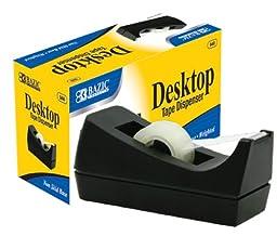 BAZIC 1-Inch Core Desktop Tape Dispenser