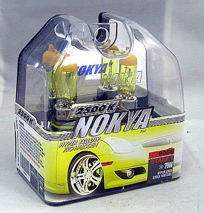 Nokya Arctic Yellow 9006 Headlight Bulb (Stage ()