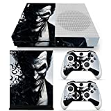 xbox one only console - ZoomHit Xbox One S Console Skin Decal Sticker The Joker + 2 Controller Skins Set (S Only)