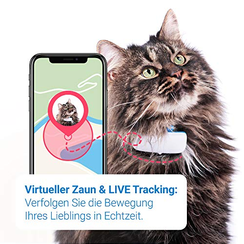 Tractive GPS Tracker für Katzen mit (GPS Tracker für ...