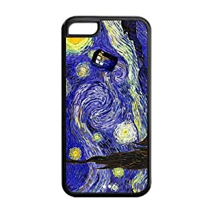MMZ DIY PHONE CASETPU Case Cover for ipod touch 4 Strong Protect Case Starry Night Space Nebula Universe Pattern Case Perfect as Christmas gift(2)