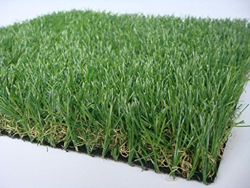 Premium Pro Turf- 4' X 5' Dual color GRASS MAT Synthetic Grass for landscaping, playground areas, poolside, pet areas, sports fields, patios, decks, door mats, (Turf Deck)