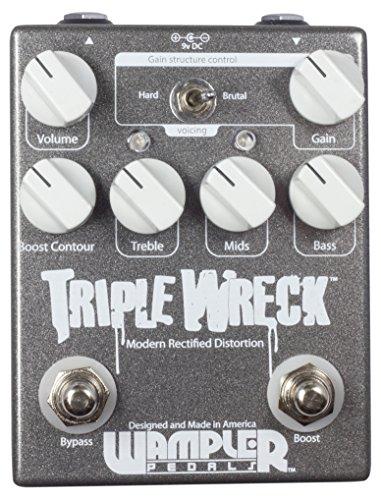 Mesa Boogie Guitar Amps (Wampler Triple Wreck Modern Rectified Distortion Pedal)