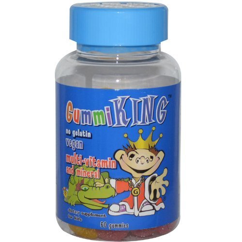 60 Gummi Fish - Gummi King, Multi-Vitamin & Mineral, For Kids, 60 Gummies by Gummi King