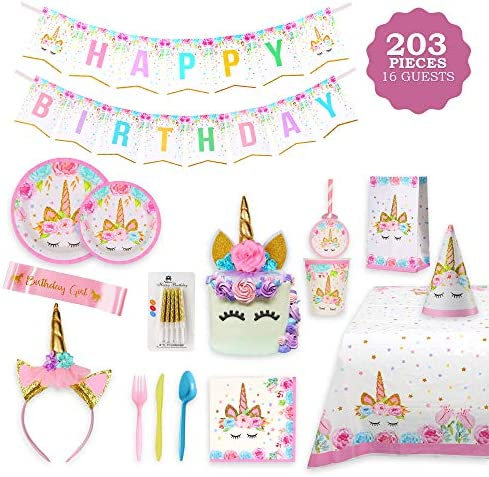 Unicorn Party Supplies Tableware Serves product image