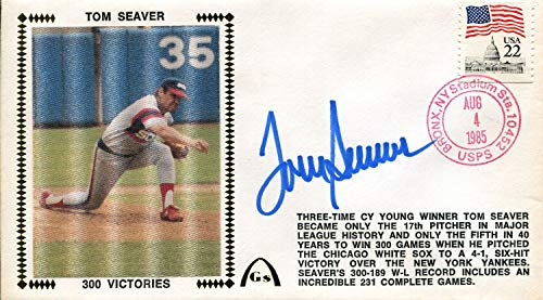 - Tom Seaver Autographed First Day Cover