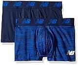 New Balance Mens Premium performance 3 trunk underwear (pack of 2)