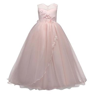 Bekleidung Longra Mädchen Kleider Kinder Kleider festliche Kleid ...