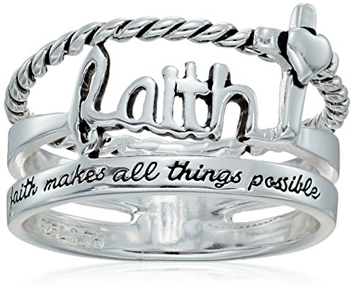 Sterling Silver Faith Things Possible