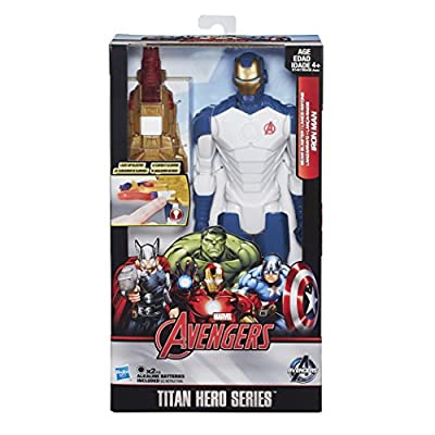 Avengers Titan Heroes Iron Man Deluxe Electronic Action Figure - Entertainment Earth Exclusive: Toys & Games