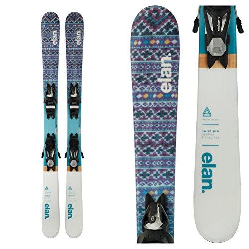 Elan Twist Pro Kids Skis with EL 7.5 Bindings 2018 - ()